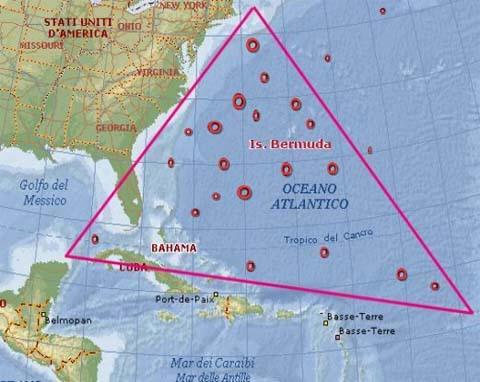 triangolo delle bermuda, alterazioni spazio temporali e anomalieelettromagnetiche