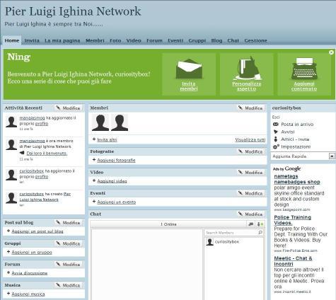 Se Volete registrarvi su questo network mandate le vs. richieste a: contact@ighina.66ghz.com